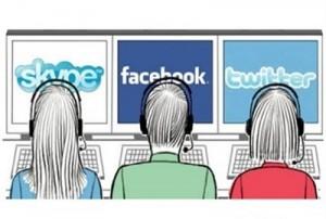 Las redes sociales corporativas en Compás Comunicación.