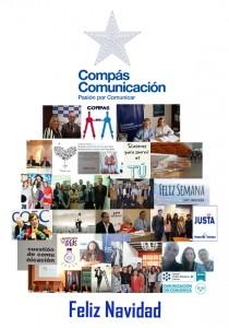 Felicitación de Navidad de Compás Comunicación 2014.