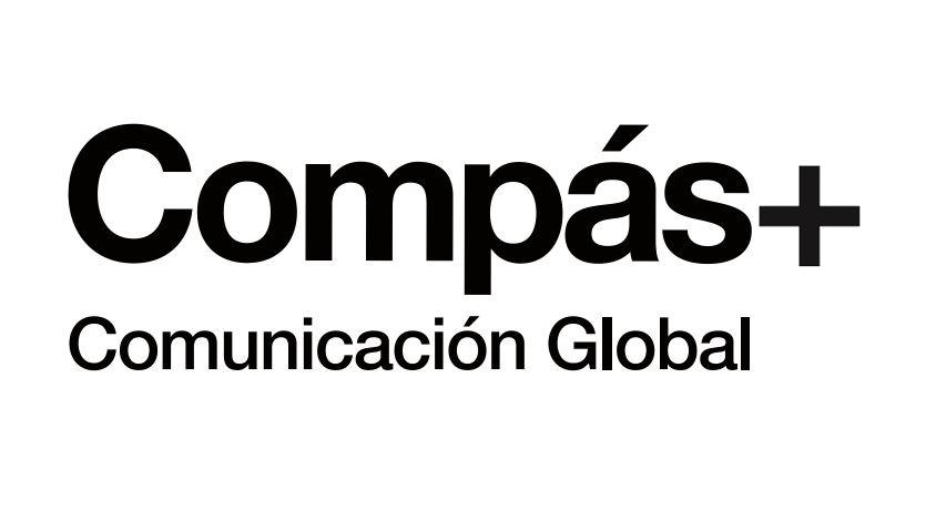 Logo Compás Comunicación Global