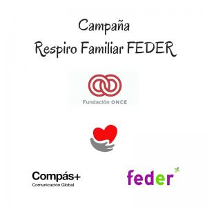 compas comunicacion colabora en el proyecto respiro familiar de FEDER y Fundacion ONCE