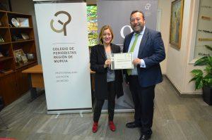 la agencia compas consigue el sello de comunicacion responsable del colegio de periodistas de murcia
